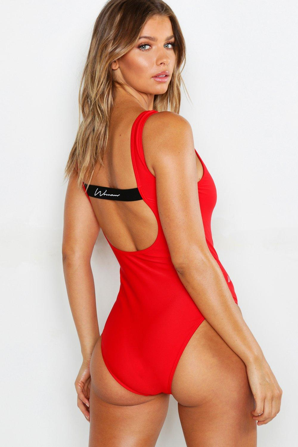 Back Swimsuit£18 Strappy Scoop Times Woman 00Gay thCrQsd