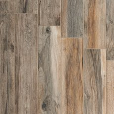 Soft Ash Wood Plank Porcelain Tile