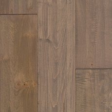Greige Maple Hand Scraped Solid Hardwood