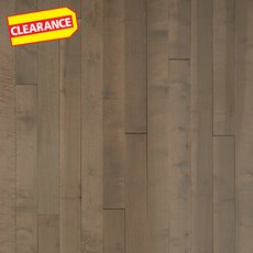 Clearance! Coastal Maple Smooth Solid Hardwood