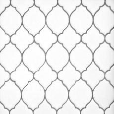 White Lantern Polished Porcelain Mosaic