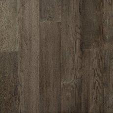 Medium Gray Oak Wire Brushed Water-Resistant Engineered Hardwood