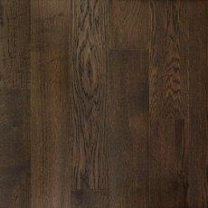 Brushed Gray Oak Wire Brushed Water-Resistant Engineered Hardwood