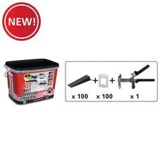 New! Rubi Delta Tile Leveling System Kit