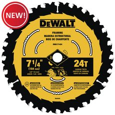 New! DeWalt 7-1/4 in. 24T Saw Blade