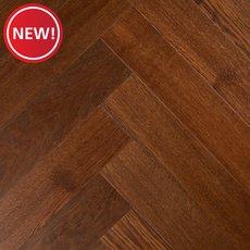 New! Mirada Oak Herringbone Water-Resistant Engineered Hardwood