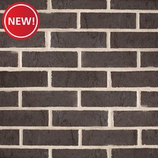 New! Carbon Black Thin Brick Panel
