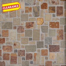 Clearance! Multicolor Pattern Slate Mosaic