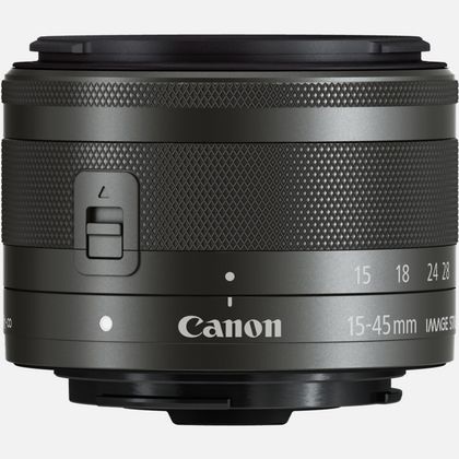 Objectif Canon EF-M 15-45mm f/3.5-6.3 IS STM - Graphite