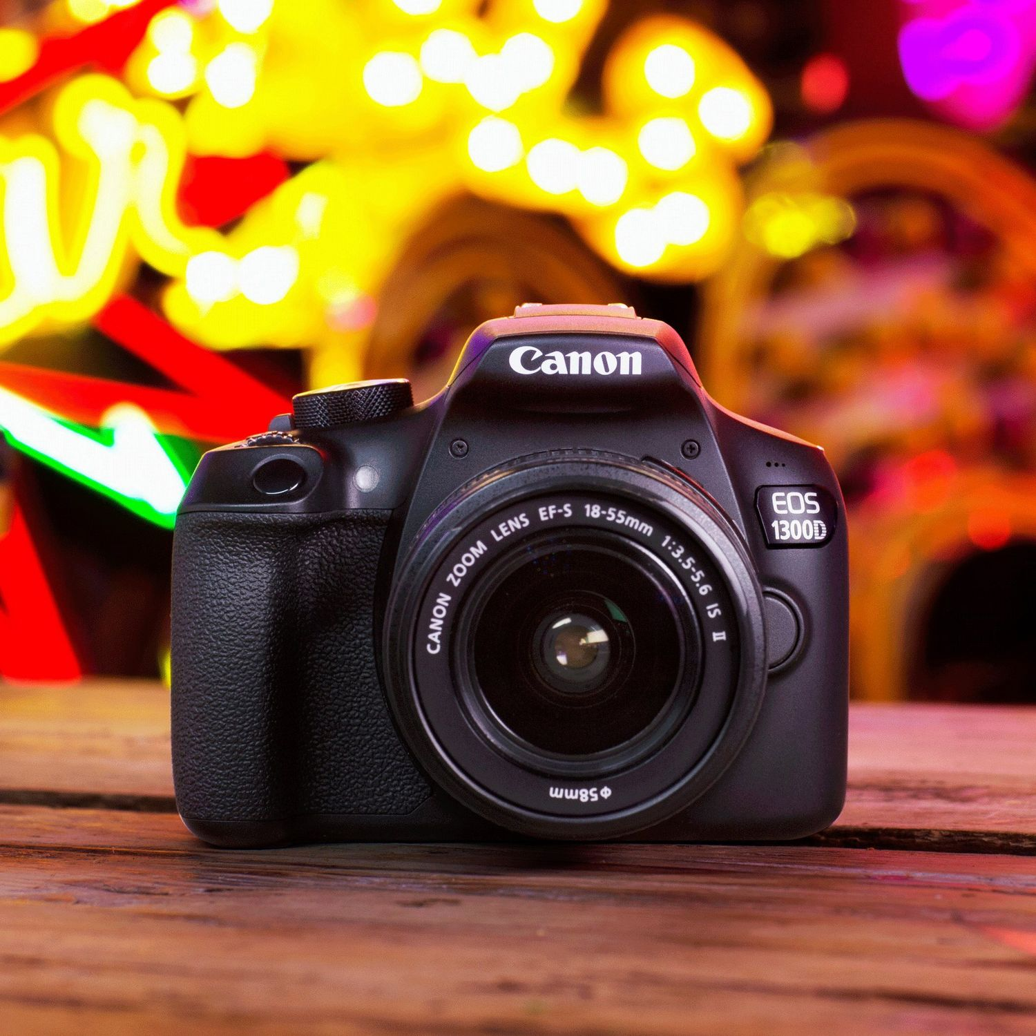 Buy Canon EOS 1300D + 18-55mm IS II Lens in Entry Level DSLR Cameras