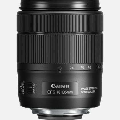 Objectif Canon EF-S 18-135mm f/3.5-5.6 IS USM