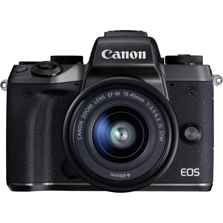 Comprar Canon EOS M5 + EF-M 15-45 mm f/3,5-6,3 IS STM en Cámaras con ...