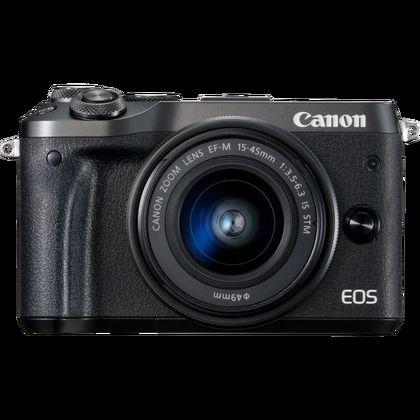 Canon EOS M6 + objectif EF-M 15-45mm IS STM noir