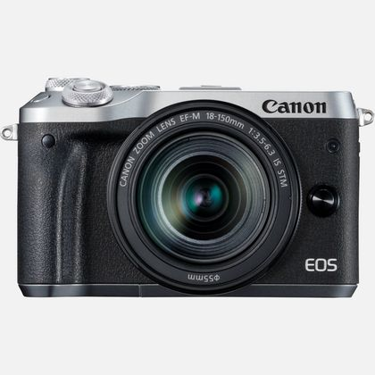 Canon EOS M6 + objectif EF-M 18-150mm IS STM argent