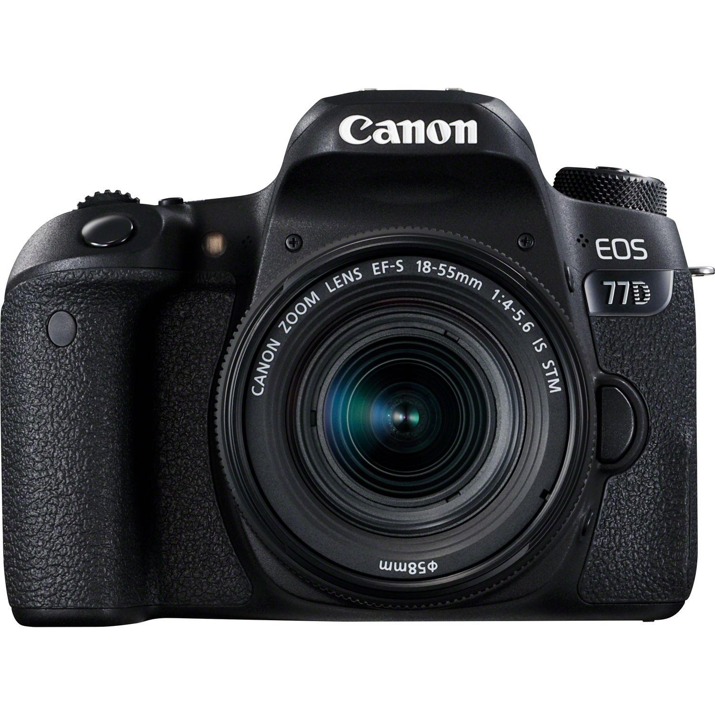 Comprar Canon EOS 77D + Objetivo EF 18-55mm IS STM + Mochila + ... 9e17acc3420