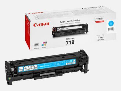 Cartouche toner cyan Canon 718C