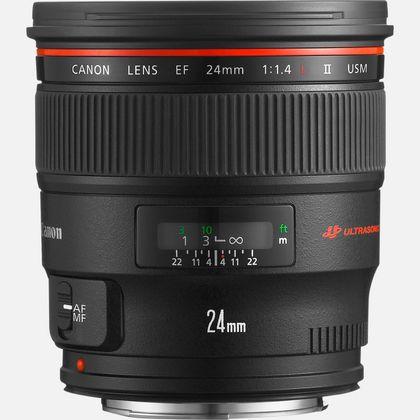 Objectif Canon EF 24mm f/1.4L II USM