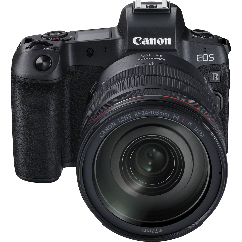 Buy Canon EOS R Body + RF 24-105mm f/4L IS USM Lens + Mount