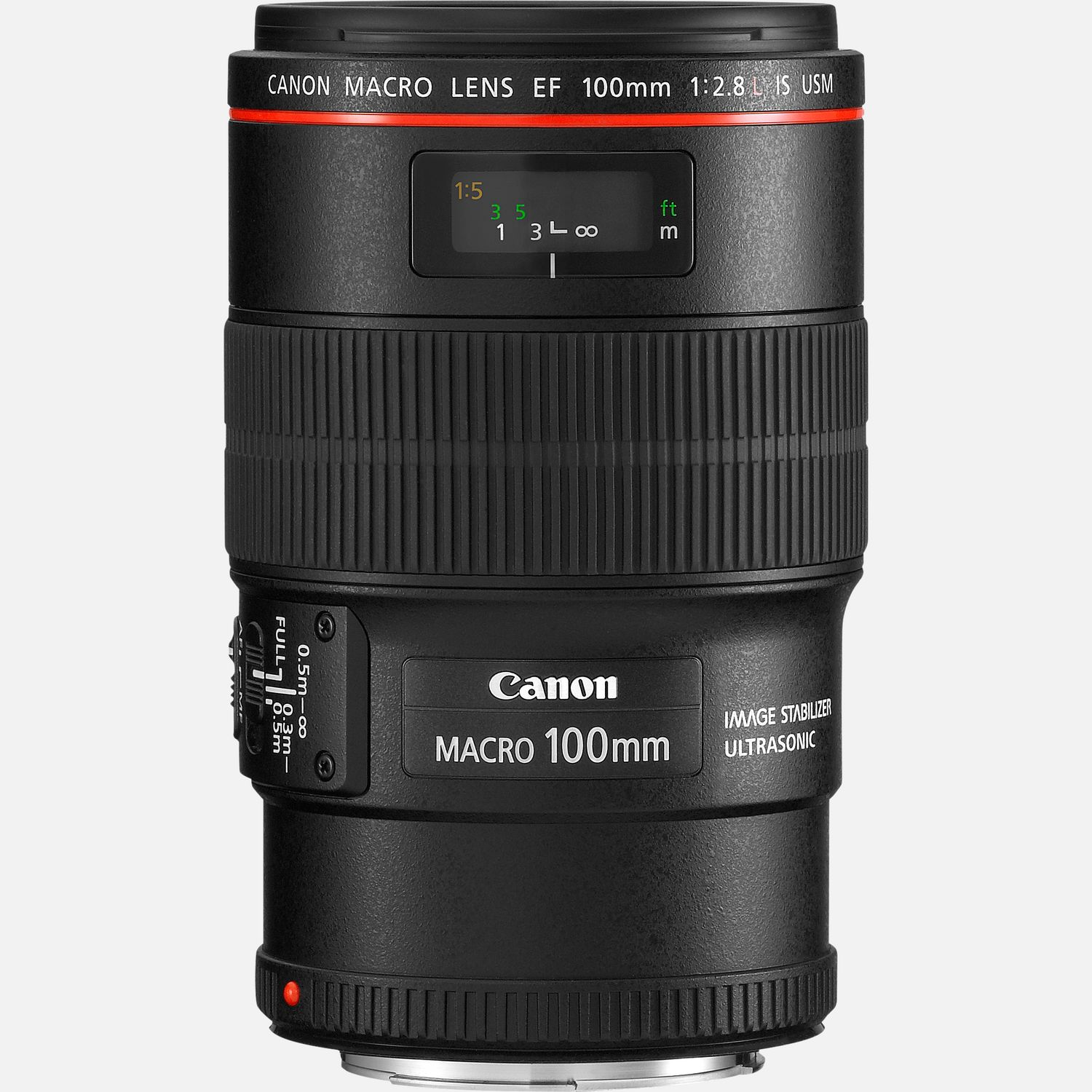 Canon EF 100mm f 2.8L Macro IS USM lens