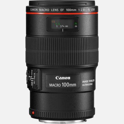 Objectif Canon EF 100mm f/2.8L Macro IS USM