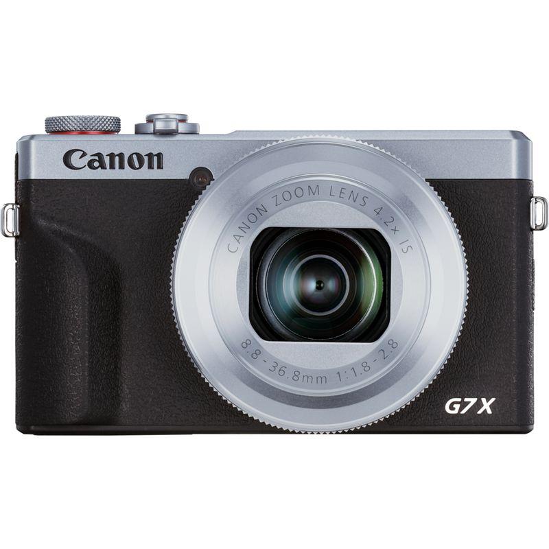 Canon PowerShot G7 X Mark III Fotocamera compatta – Argento in