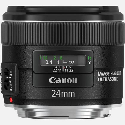 Objectif Canon EF 24mm f/2.8 IS USM