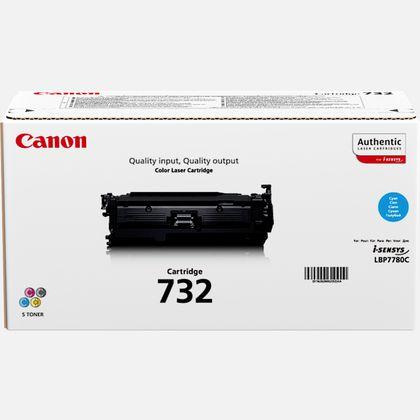 Cartouche toner cyan Canon 732C