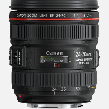 Objectif Canon EF 24-70mm f/4L IS USM