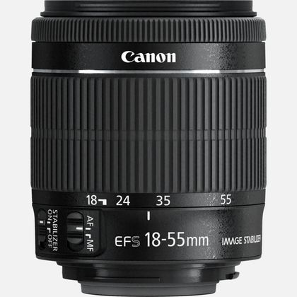 Objectif Canon EF-S 18-55mm f/3.5-5.6 IS STM