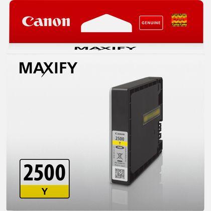 Cartouche d'encre jaune Canon PGI-2500Y