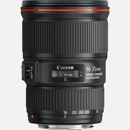 Objectif Canon EF 16-35mm f/4L IS USM
