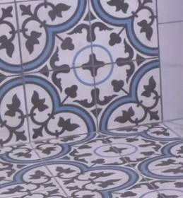 F&D Start to Finish: Install Encaustic Cement Tile