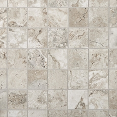 Tarsus Gray Polished Porcelain Mosaic