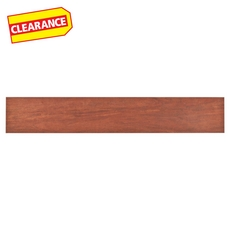 Clearance! Exotica Cherry Wood Plank Porcelain Tile