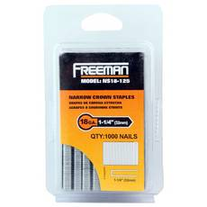 Freeman 18 Gauge Narrow Crown Staple 1 1/4in.