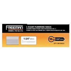 Freeman 18 Gauge L Cleat 1 3/4in. Flooring Nails