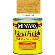 Minwax 70000 Natural Interior Wood Finish Stain