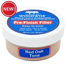 New! Woodwise Red Oak Pre-Finish Filler