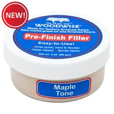New! Woodwise Maple Tone Pre-Finish Filler
