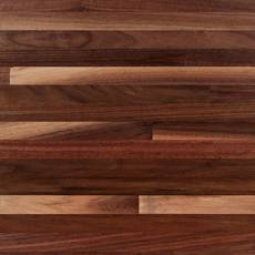 American Walnut Butcher Block Backsplash 8ft.