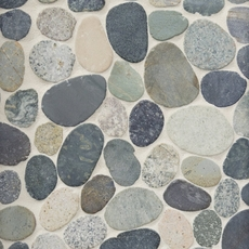 Kayan River Pebblestone Mosaic 12 X 12 100032523