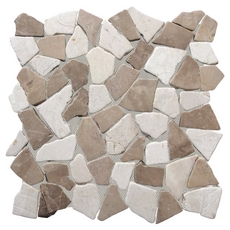 Solo River Pebble Stone Mosaic