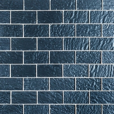 Midnight Blue Glass Tile