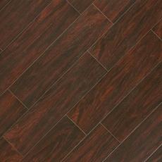 Vintage Walnut Wood Plank Porcelain Tile