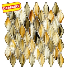 Clearance! Twilight in Rio Bouquet Glass Mosaic