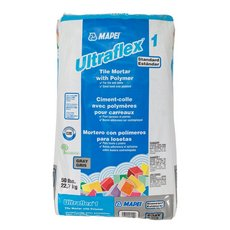 Mapei UltraFlex-1 Gray Mortar