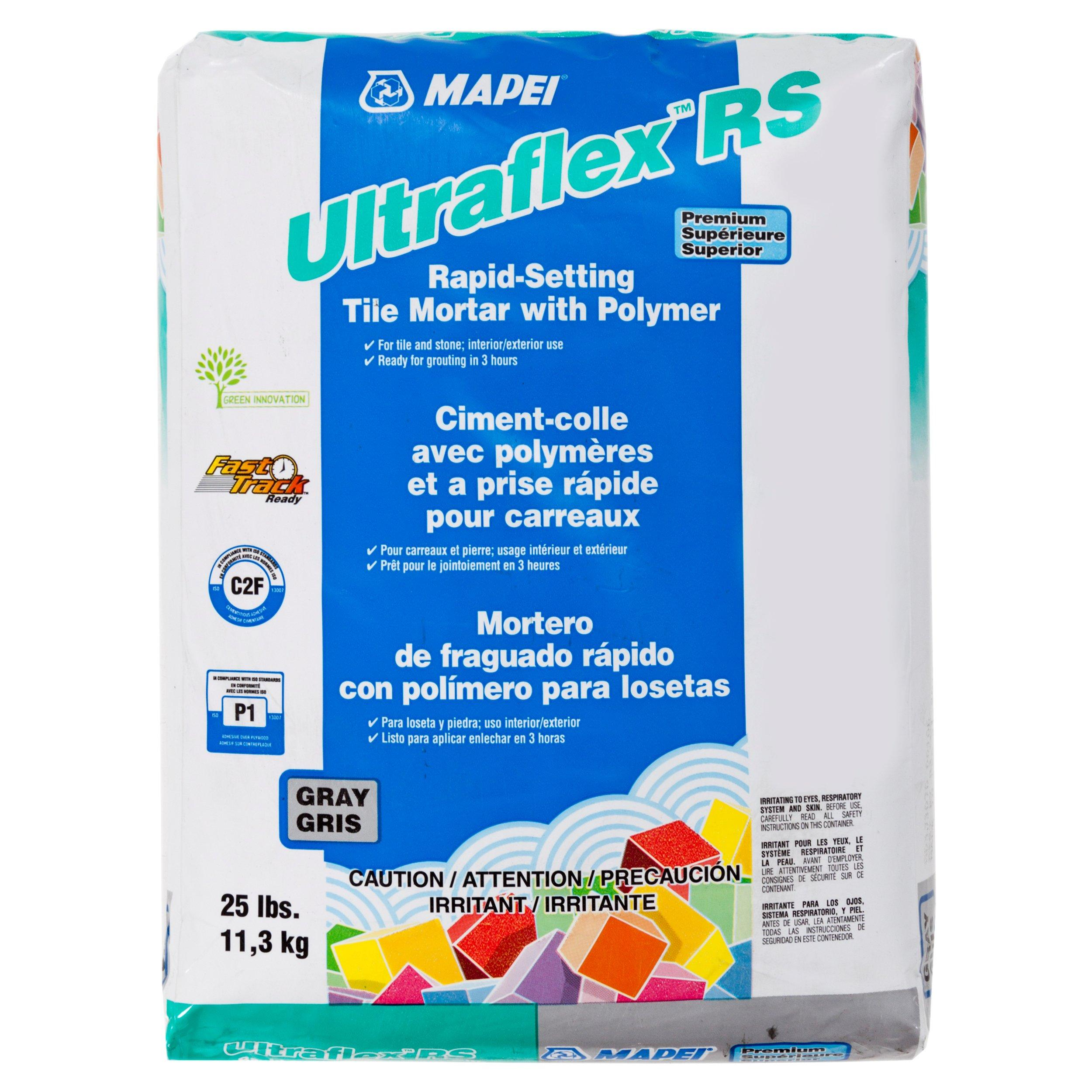 mapei ultraflex rs gray mortar 25lb 100037159 floor and decor