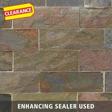 Clearance! Peacock Natural Decorative Slate Tile