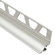 Schluter Dilex-Ahka Cove Base 3/8in. Aluminum Satin