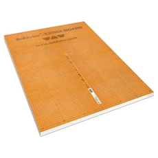 Schluter Kerdi 1/2in. thick Waterproof Substrate and Building Board Panel